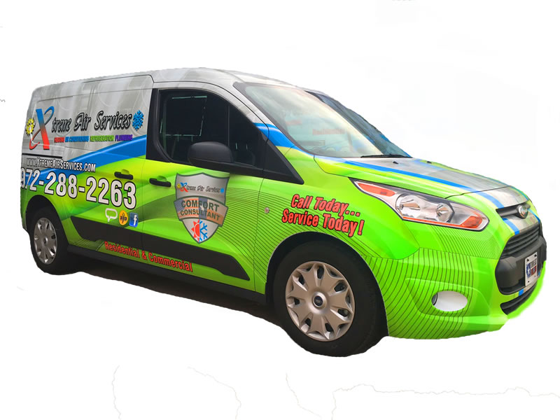 Xtreme Air Services Van