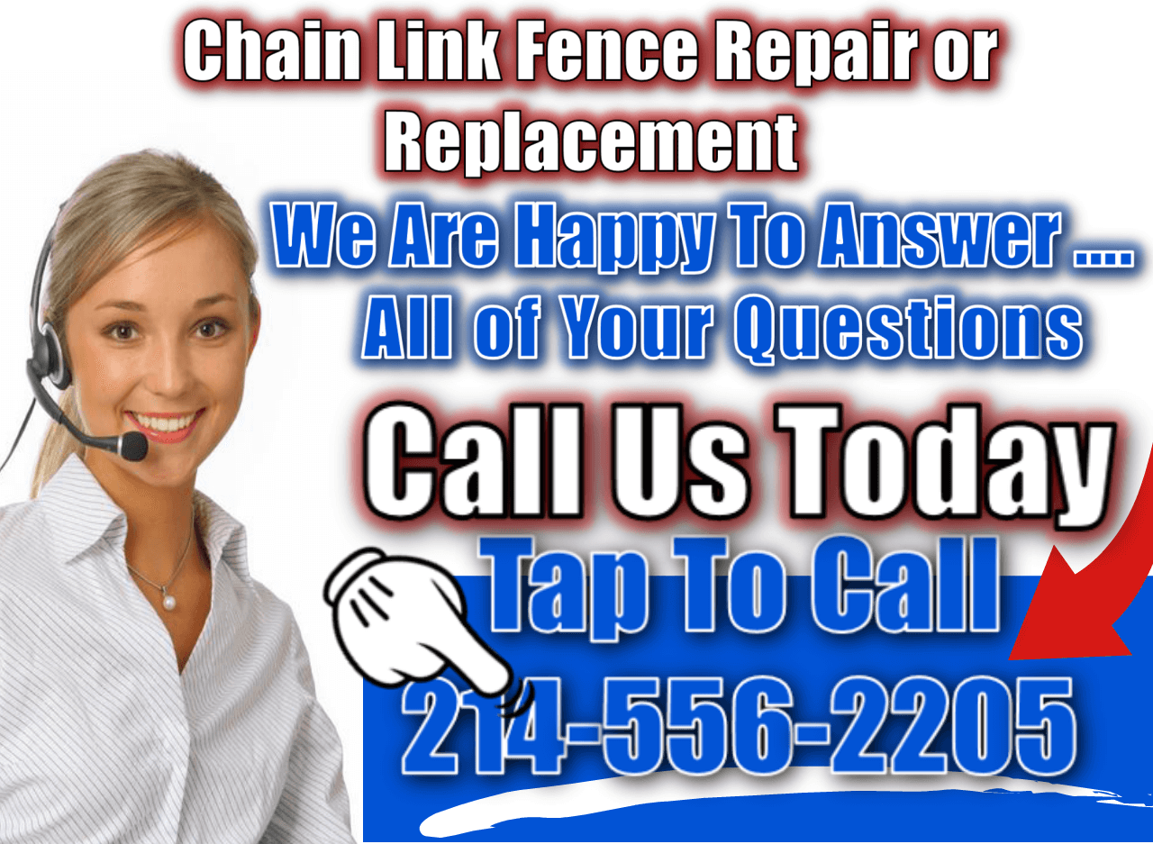 Chain link Fence Dallas Xtreme Air Services call us