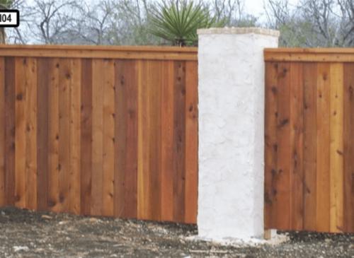 Dallas Fence Company Cedar Wood 2345 .6