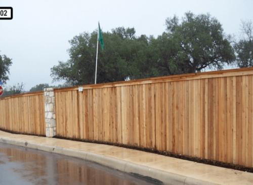 Dallas Fence Company Cedar Wood 2345 .7