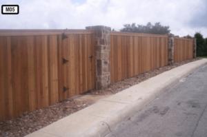 Dallas Fence Company Cedar Wood 2345 .8