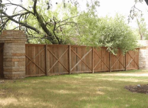 Dallas Fence Company Cedar Xtreme Air Service 1
