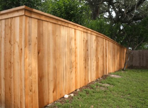 Dallas Fence Company Cedar Xtreme Air Service 16