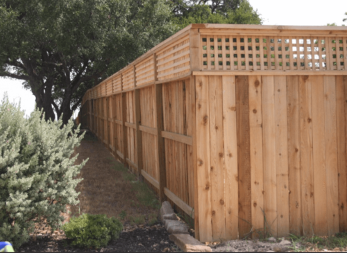 Dallas Fence Company Cedar Xtreme Air Service 17