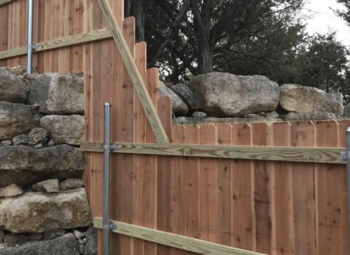 Dallas Fence Company Cedar Xtreme Air Service 19