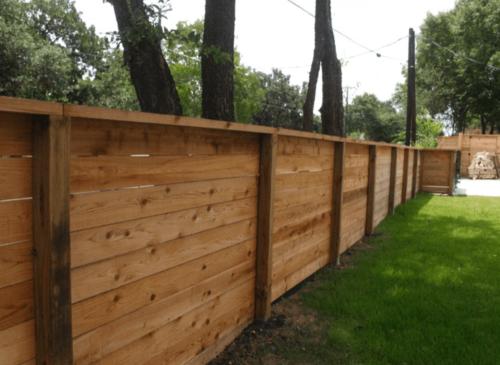 Dallas Fence Company Cedar Xtreme Air Service 2