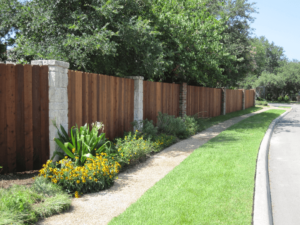 Dallas Fence Company Cedar Xtreme Air Service 6