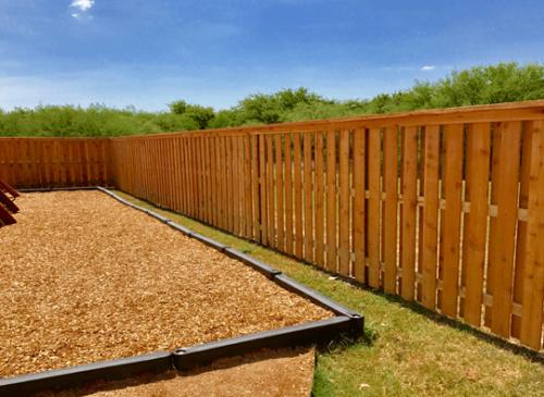 Dallas Fence Company Cedar Xtreme Air Service 8