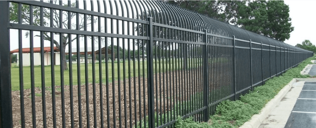 Dallas Fence Company Wrought Iron Xtreme Air Service Slider 6.1