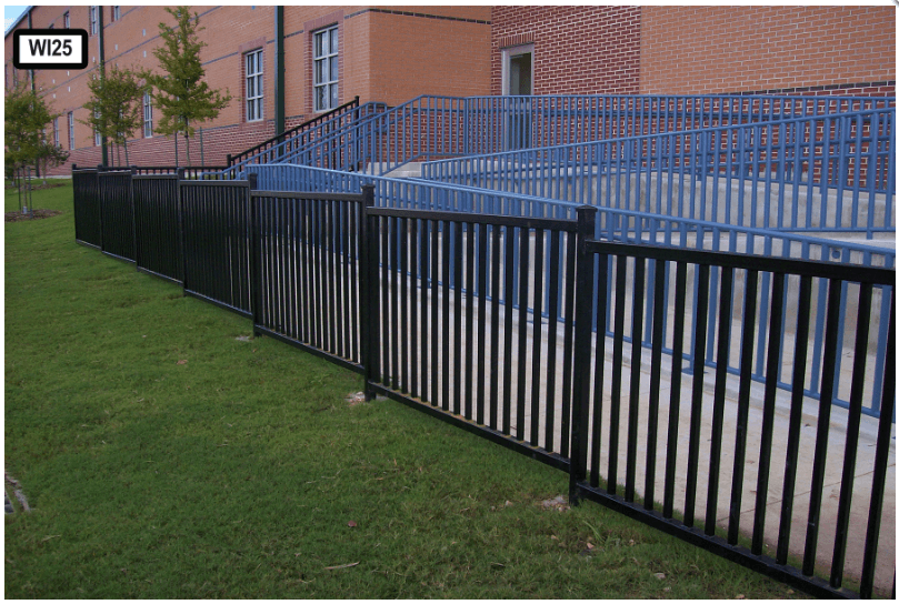 Dallas Fence Company Wrought Iron Xtreme Air Service 1