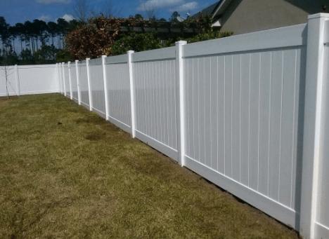 Vinyl Fence - Xtreme Air Services 2