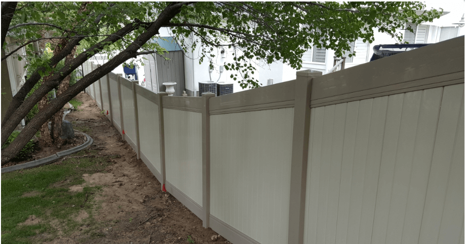 Vinyl Fence - Xtreme Air Services 5
