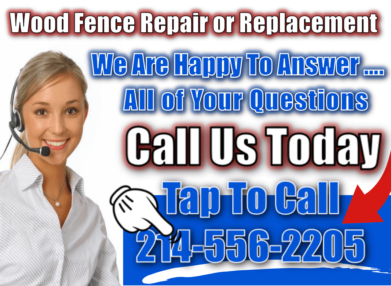 Wood Fence Repair or Replacement 1