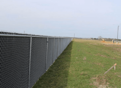 chain link fence dallas xtreme air services 2