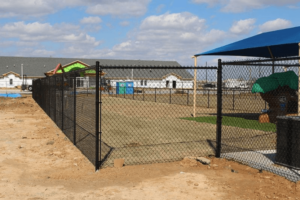 chain link fence dallas xtreme air services 6