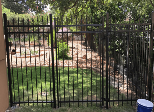 wrought iron fence repair dallas xtreme air services 3